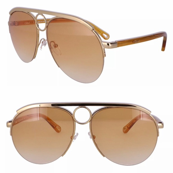 Chloe Accessories - Chloe aviator sunglasses
